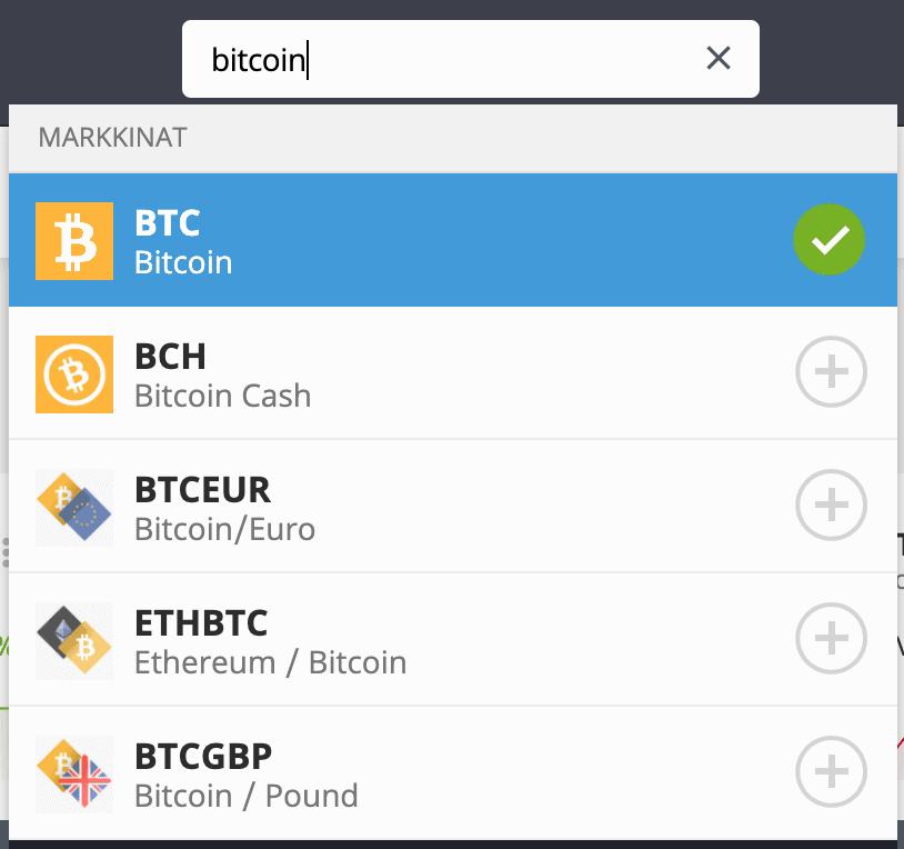 Etsi Bitcoin