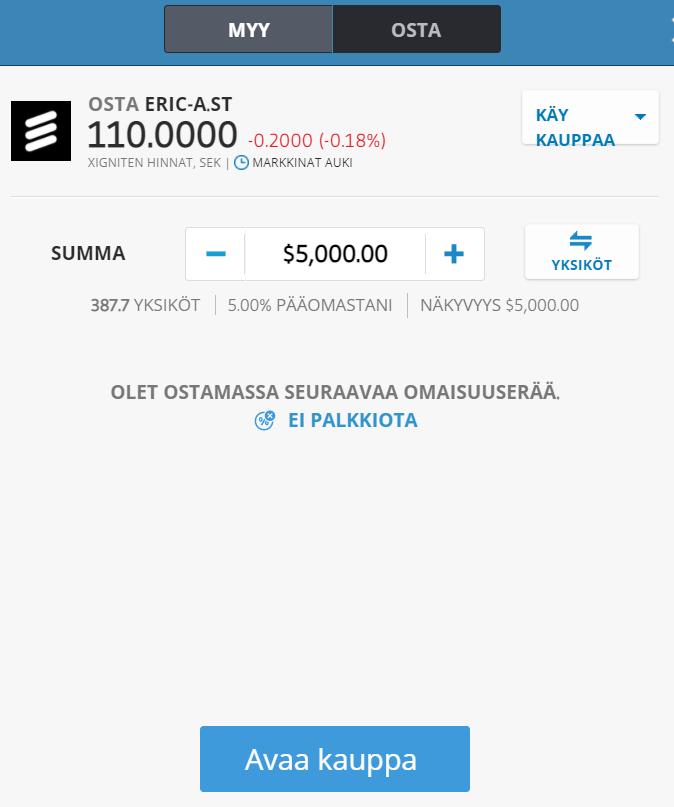 Osake ruotsin osakkeet