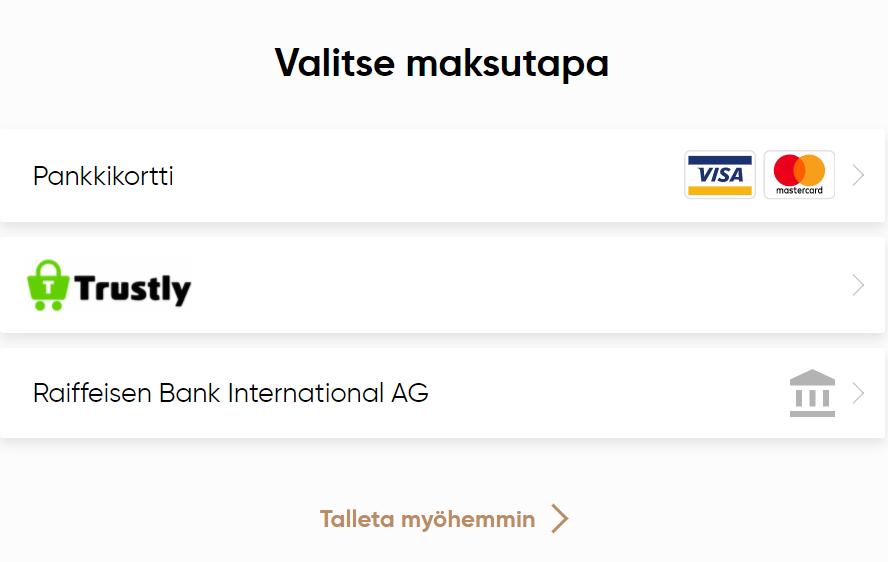 Talleta rahaa Capital.com