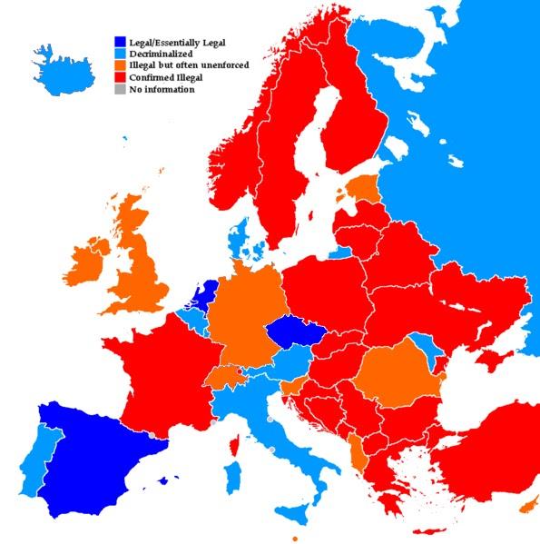 Kannabiksen laillistaminen EU: ssa ja Suomessa