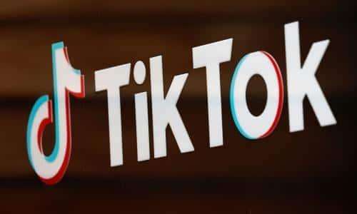 TikTok IPO logo