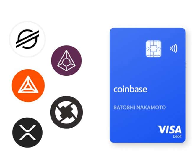 Coinbase-Bitcoin-luottokortti