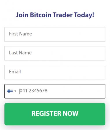 Luo tili Bitcoin Traderiin