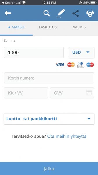 Tallettaa rahaa eToro trading app
